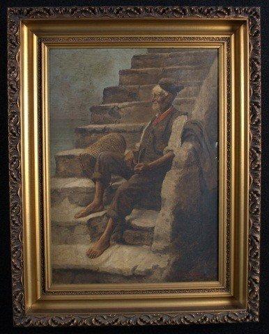 8: John Califano (Am/It 1864-1946) Seated Berber