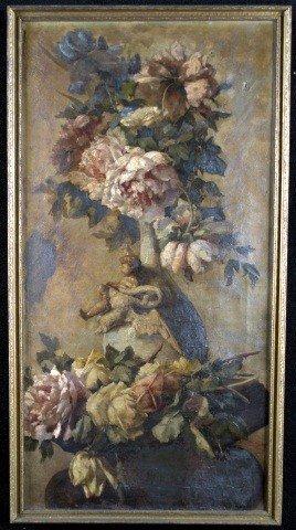 10: European School Floral Still Life