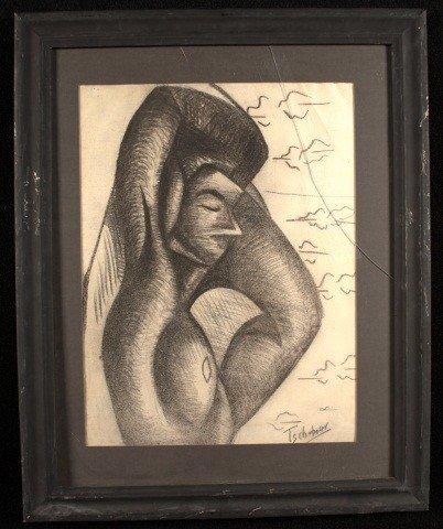 11: Nahum Tschacbasov (Rus/Am1899-1984)  Abstract   *