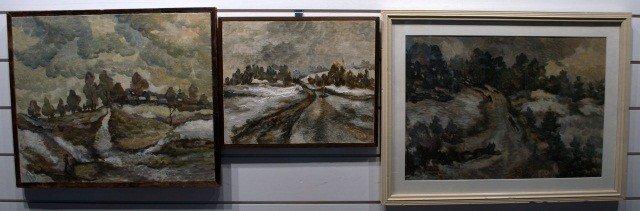 24: Three Russian Paintings