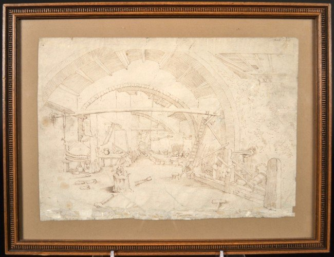 1: Old Master Style Drawing