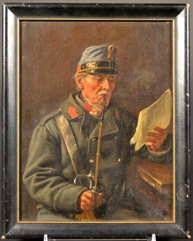 2: Portrait of Austrian Soldier