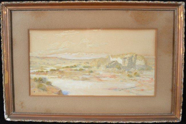 9: Ira D.G.Cassidy (Am1879-1934) Landscape +
