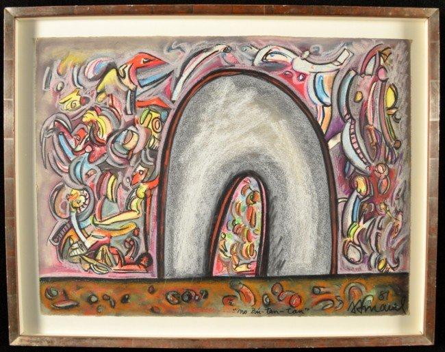 10: Antonio Amaral (Sal Paulo 1935) Abstract Landscape