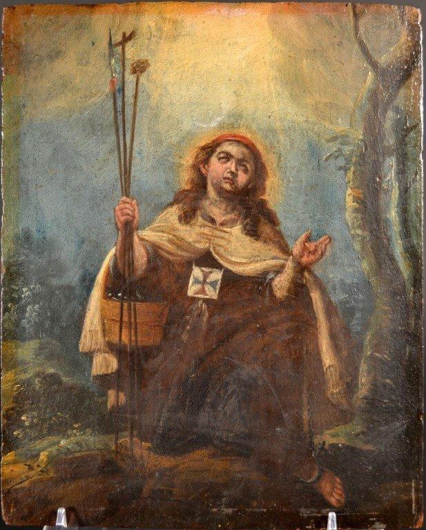 12: Kneeling Saint   *