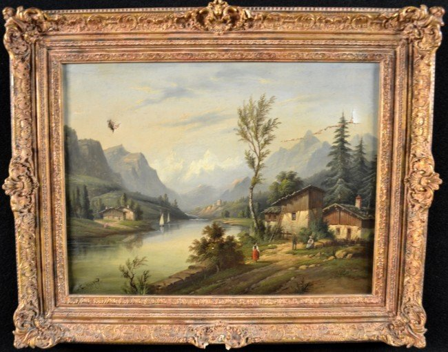 14: A. Gins Swiss Landscape