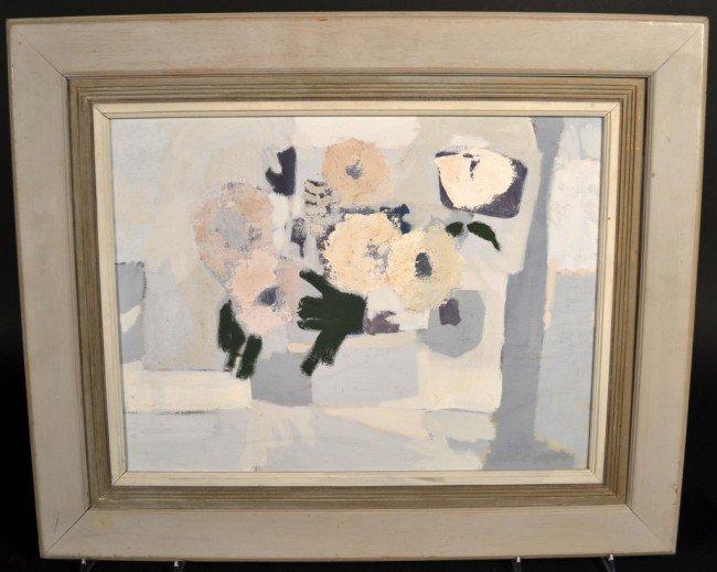15: Russell (Davis) Green Abstract