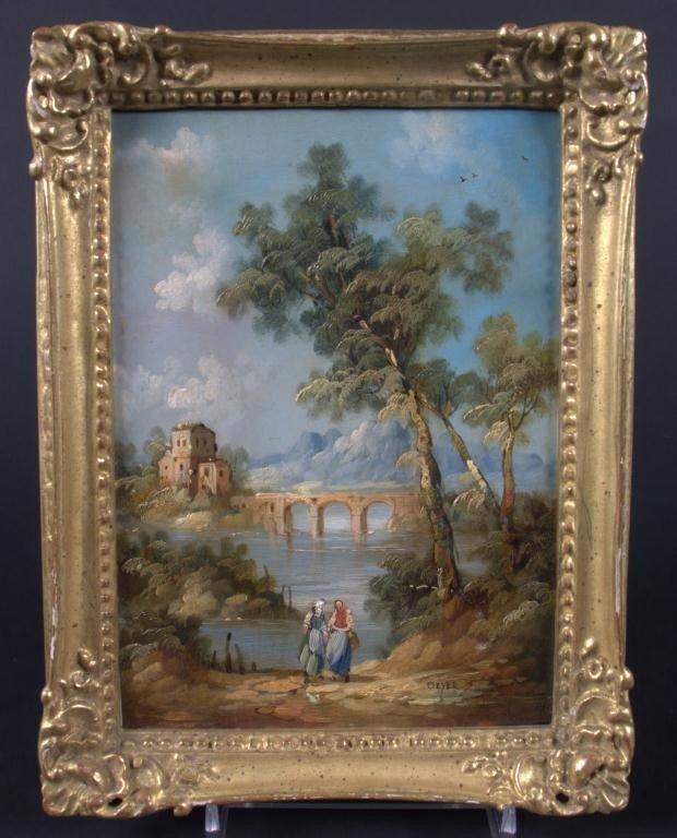 18: Deyer, European Landscape with Figures