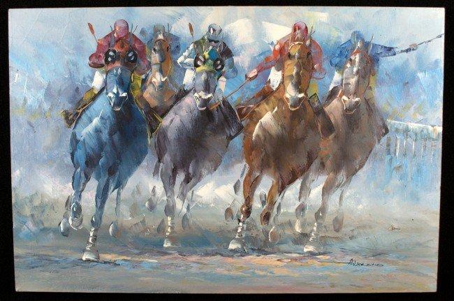 20: American School Horserace