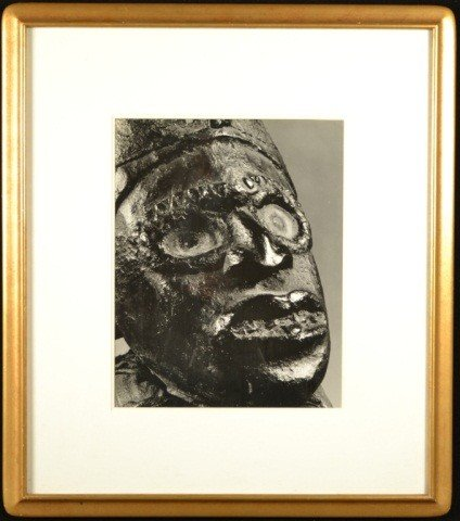 3: African Mask Photograph
