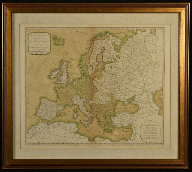 11: Map of Europe