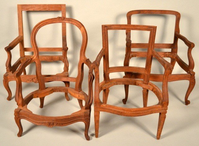 213: Miscellaneous French Unfinished Chair Frames
