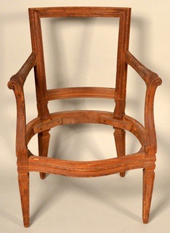 213: Miscellaneous French Unfinished Chair Frames - 5