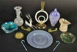 272 Group of Venetian Glass Decorations