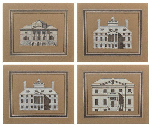 6: Group of  Architectural Prints