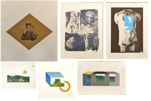 12: Francesco Copello (Chile b. 1938)  Abstract Prints