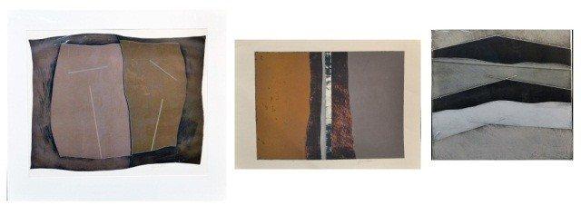 15: Byron K. Slatten Three Abstract Works