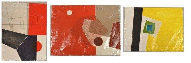 18: Jacqueline de Butler (20th c)  Three Works