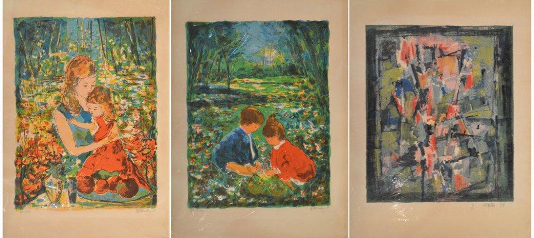 19: Three Decorative Prints