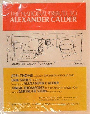 24: Tribute to Alexander Calder Poster