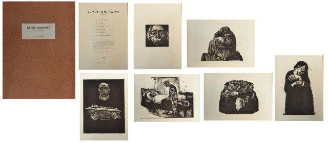 39: Käthe Kollwitz (Ger. 1867-1945)  Six Woodcuts