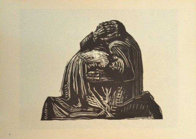 39: Käthe Kollwitz (Ger. 1867-1945)  Six Woodcuts - 3