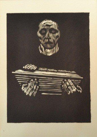 39: Käthe Kollwitz (Ger. 1867-1945)  Six Woodcuts - 4