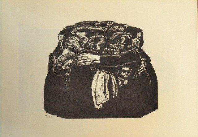 39: Käthe Kollwitz (Ger. 1867-1945)  Six Woodcuts - 6