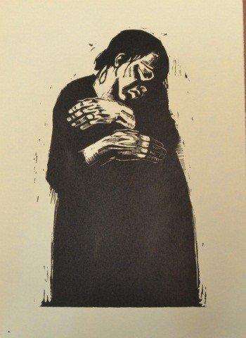 39: Käthe Kollwitz (Ger. 1867-1945)  Six Woodcuts - 7