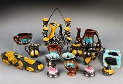 310 Miscellaneous Collection of Art Pottery Articles