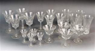 282: Assorted Group of Crystal Stemware and Bar Ware
