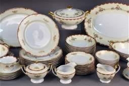 330: Meito China Japanese Porcelain Dinner Service