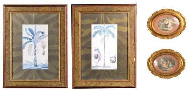 2: Two Pairs of Decorative Prints