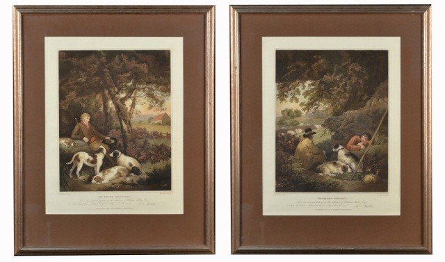12: Pair of Sporting Prints