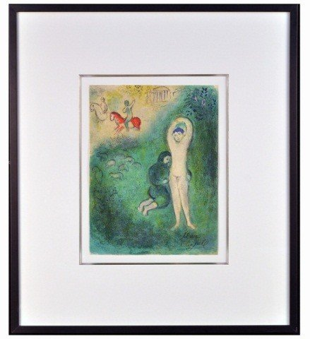 19: Marc Chagall (Rus-Fr. 1887-1985)  Nude   *