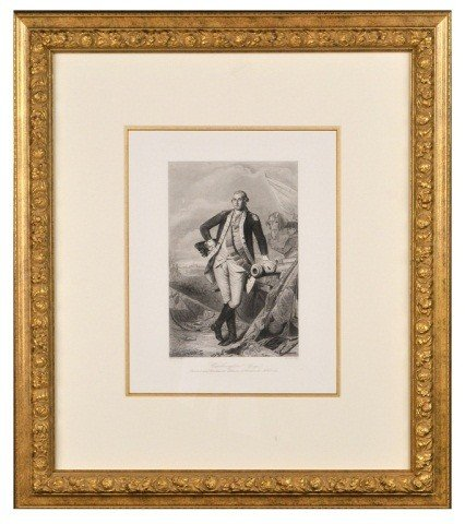 21: George Washington Engraving