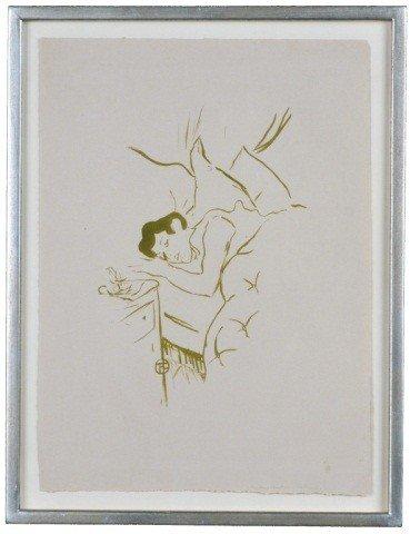 23: Henri deToulouse-Lautrec (Fr. 1864-1901) La Bouche