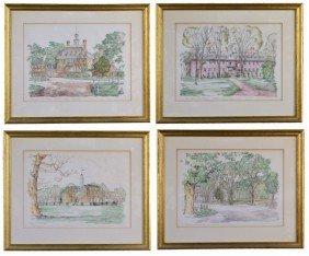 2: Four Scenes of Williamsburg