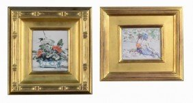 3: Two Decorative Watercolor Pictures
