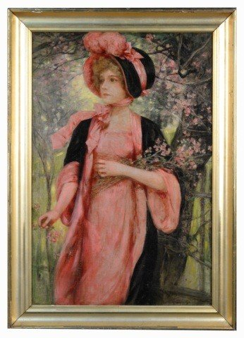 4: Lady in a Pink Dress