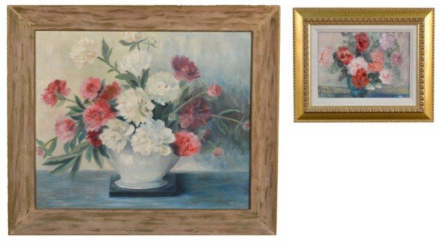 6: Two Floral Still Lifes