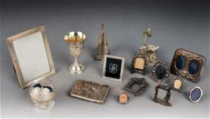 178 Miscellaneous Group of Silver   Plated Articles