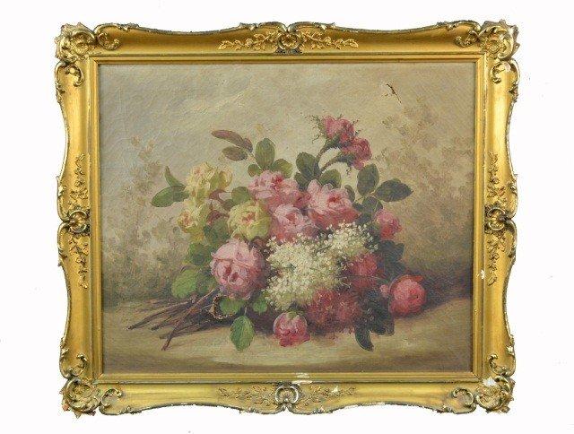 2: American School  Floral Still LIfe