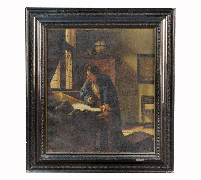 4: European School  Gentleman in his Study