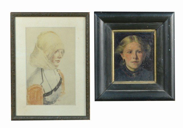 5: Two Portraits of Women