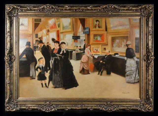 15: European School   Visiting a Gallery