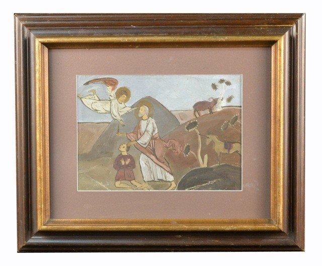 20: Y. Pavlovich (Uk, Rus 1872-1947) Allegorical Scene