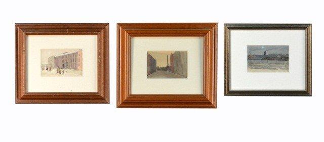 23: Yuri Pavlovich (Ukr, Rus 1872-1947) Three Drawings