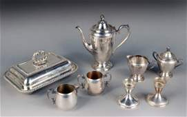 186 Miscellaneous Group of Silver Plated Articles