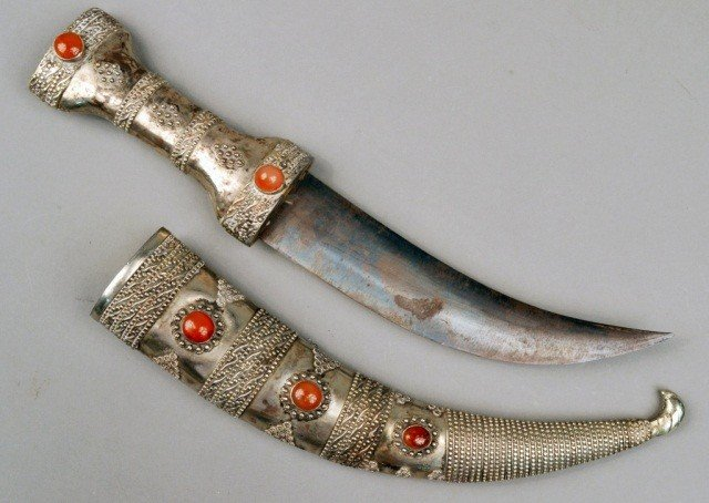 306: Middle Eastern Curved Dagger